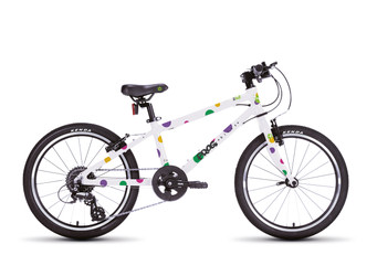 FROG 55 Unisex bike available in Multiple colours (Green,Orange and Spotty)